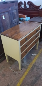 Drawers refurbished by Brian Driver for the Bower